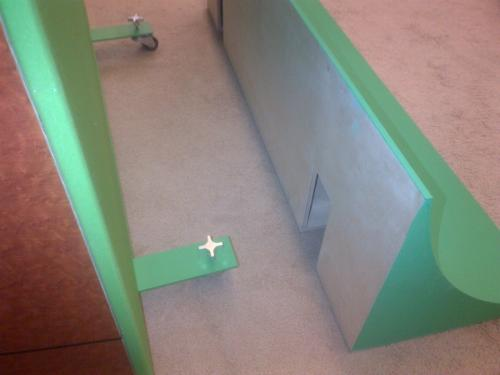 Point to Point Sweeps for rolling panel system
